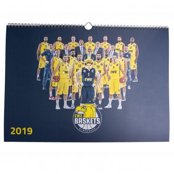 EWE Baskets Kalender 2019