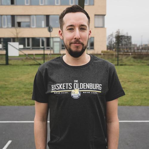 20/21 T-Shirt Herren dunkelgrau