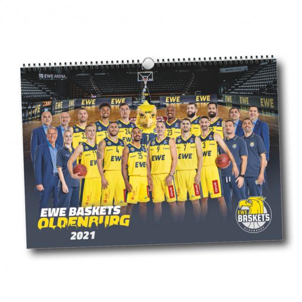 EWE Baskets Wandkalender 2021