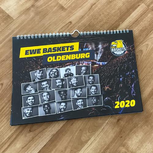 EWE Baskets Wandkalender 2020